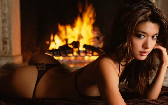 Sexy nude women masturbating